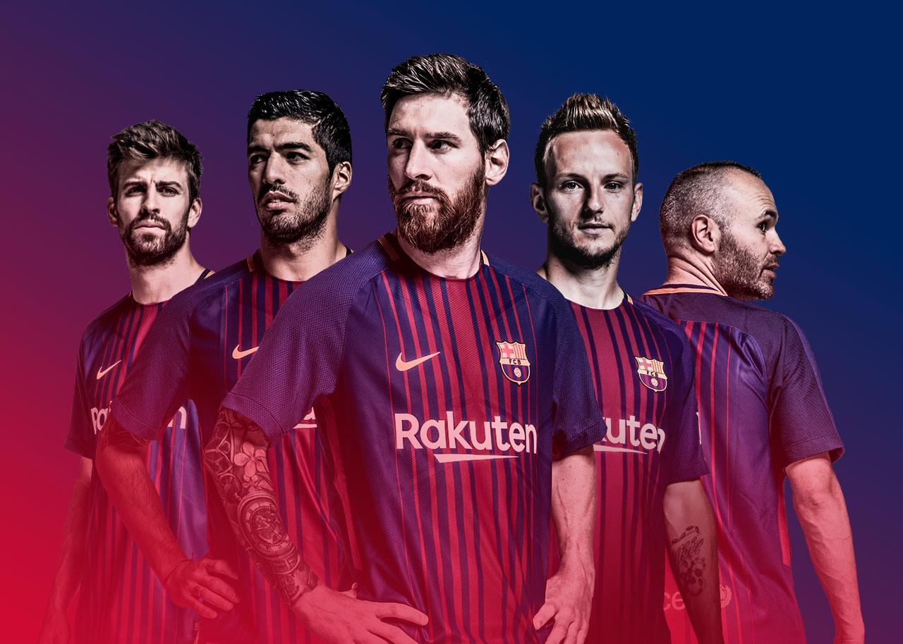 Rakuten supporting Barcelona