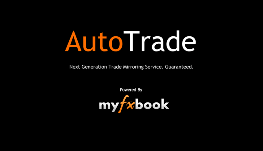 Autotrade service and myfxbook logo
